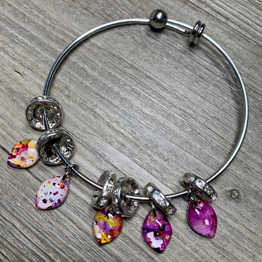 Alex And Ani Inspired Bracelet
