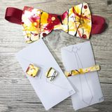Sports Team Inspired-Washington Redskins Bow Tie, Cuff Links, Tie Bars